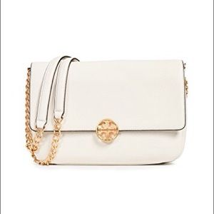 Tory Burch❤️NEW❤️Chelsea Chain Shoulder New Ivory
